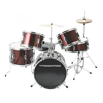 DKJ5500-WR, 5 pièces Junior Drum Set, Gloss Black