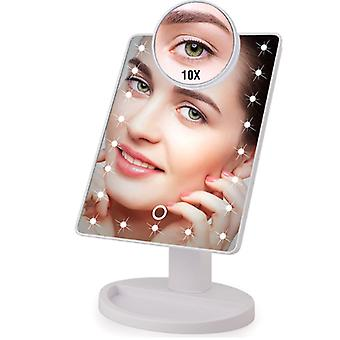 16/ 22 Led lights touch screen makeup mirror
