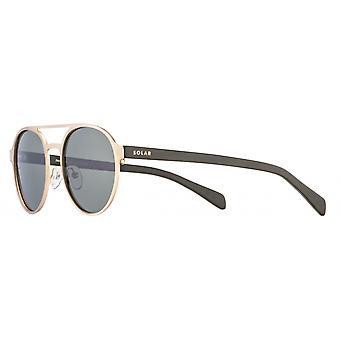 Sunglasses Unisex Panama Polarized Gold/Green
