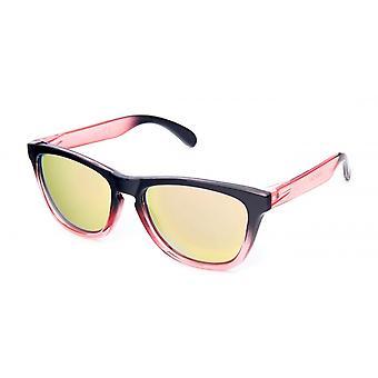 نظارات شمسية Unisex واندر Cat.3 أسود / وردي / ذهبي (19-259)
