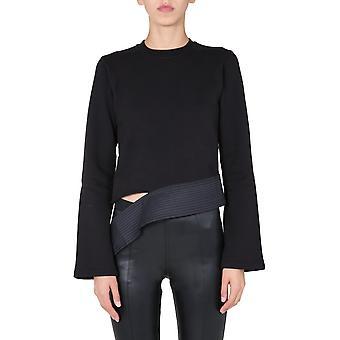 Rick Owens Drkshdw Ds20f1233fnd09 Women's Black Cotton Sweatshirt