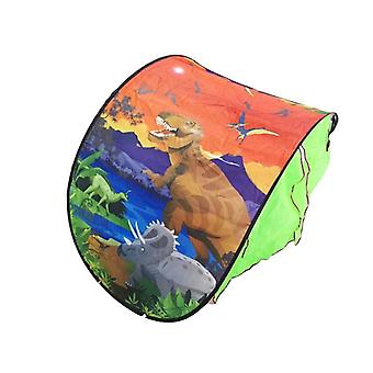 Cartoon Snowy Foldable Portable Playhouse Comforting Sleeping Indoor Outdoor