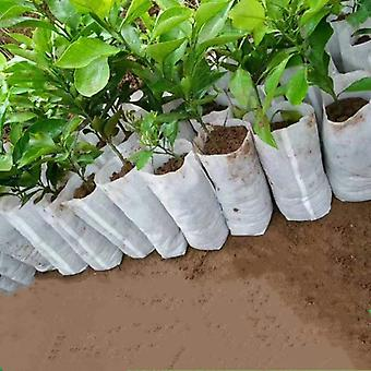 100pc Seedling Plants Nursery Bags - Organic, Eco Friendly Ventilate