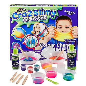 Cra Z Art Slimy Creations Colour Change Slime Make Your Own Kit