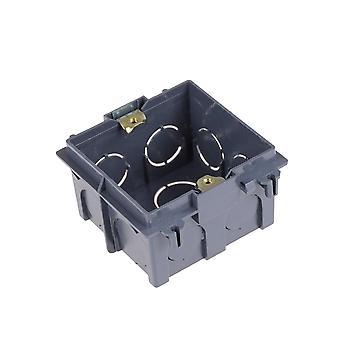 Kunststof wandplaat mount junction box type 86 Switch cassette outlet wand