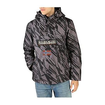 Napapijri - Clothing - Jackets - RAINFOREST_NP0A4EGWF1J1 - Men - black,gray - XL