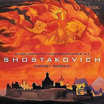 Shostakovich: Preludios & Piano Sonatas [CD] Importación de EE.UU.
