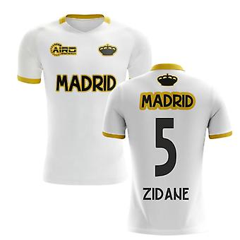 2020-2021 Madrid Concept Training Shirt (Valkoinen) (ZIDANE 5)