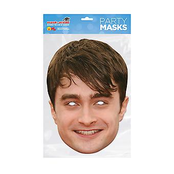 Mask-arade Daniel Radcliffe Celebrities Party Face Mask