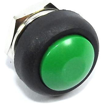Green 12mm Domed Momentary Switch