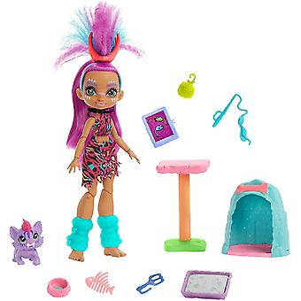 Cave Club Wild About Cats Playset with Roaralai Doll