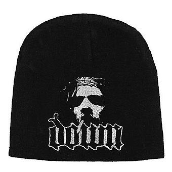 Down Beanie Hat Cap Face Smoking Jesus Band Logo Official New Black Jersey Print