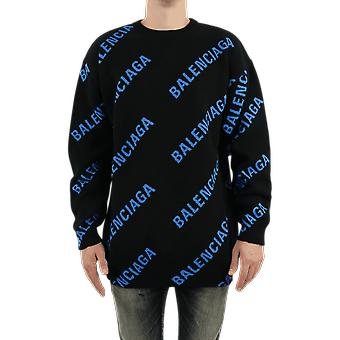 Balenciaga L/S Crewneck Black 625970T31781165 Top