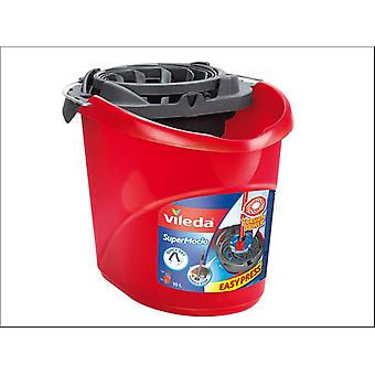 Vileda SuperMocio Bucket and Torsion Wringer 152391