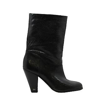 Michael Michael Kors Womens Divia Leather Closed Toe Ankle Fashion Boots
