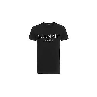 Balmain Paris Balmain Crew Neck T Shirt Uh11601