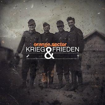 Secteur orange - importation USA Krieg & Frieden [CD]