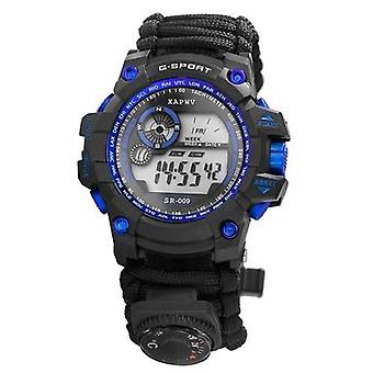 Montre hydrofuge Digital Survival Sport Watch