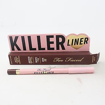Too Faced Killer Liner Total Control 36 Hour Waterproof Eyeliner 0.04oz Novo