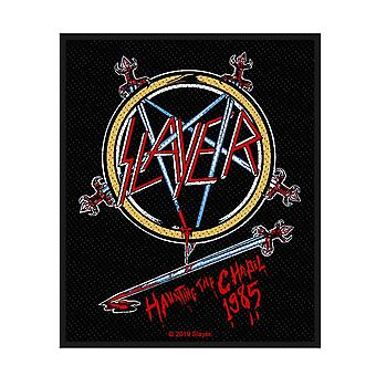 Slayer Patch Haunting The Chapel Band Logo new Official
