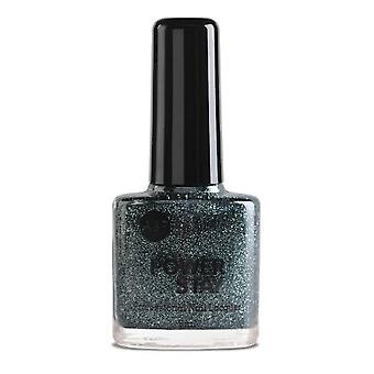 ASP Power Stay Professional Nail Lacquer - Gunmetal Glitz