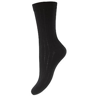 Pantherella Rachel Merino wollen sokken - Marine