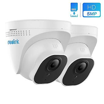 Reolink poe security camera 5mp super hd support audio dome outdoor indoor home cctv camera ip66 wat