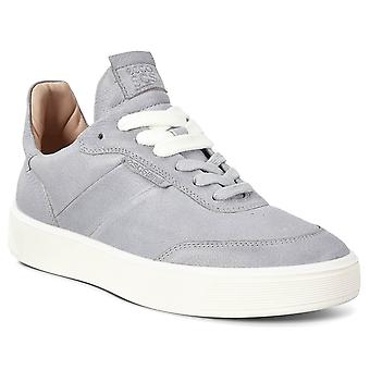Ecco Womens 2021 Street Tray Ademend Fluidform Soft Leather Trainers