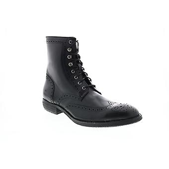 Andrew Marc Hillcrest  Mens Black Leather Casual Dress Boots