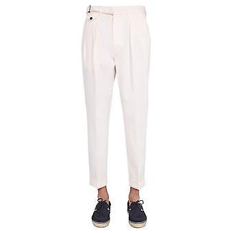 Lardini Elluxor5w150c Men's White Cotton Pants