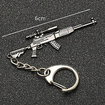 Keychain Bojiště, Batoh, Brnění, Přilba, Pan, Flare Gun Keyring