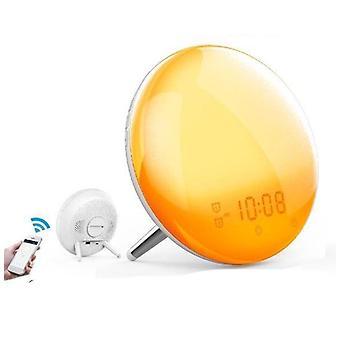 Wifi 2nd Generation Smart Alarm Clock With 7 Colors Sunrise/sunset Simulation