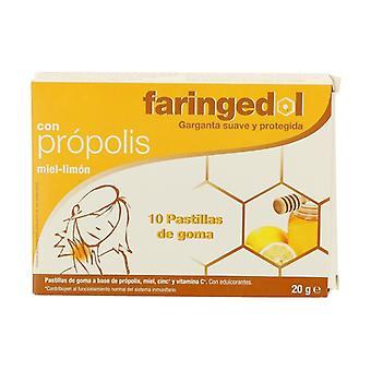 Faringedol lemon honey flavor 10 units (Lemon - Honey)