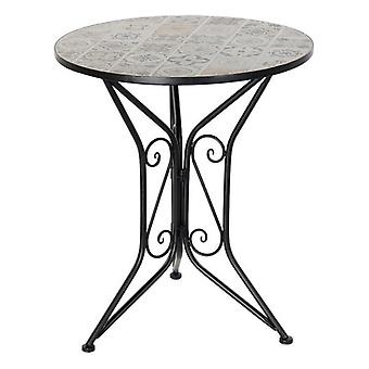 Dining Table Dekodonia Garden Ceramic Ironwork (61 x 61 x 71 cm)