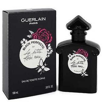 La Petite Robe Noire Black Perfecto By Guerlain Eau De Toilette Florale Spray 3.3 Oz (women) V728-548610