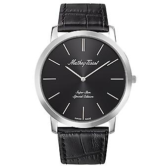 Mathey Tissot Men's Cyrus Black Dial Watch - H6915AN