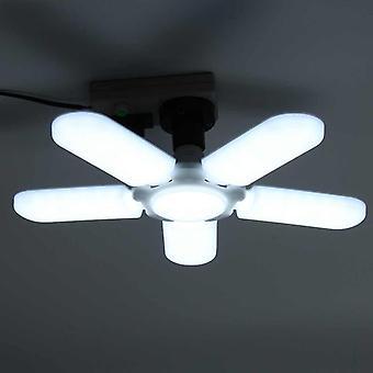 Lumière de travail de led de lame de ventilateur déformable / lampe réglable de plafond
