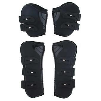 Equine Horse Tendon / Fetlock Boots Set For Training, Jumping & Riding