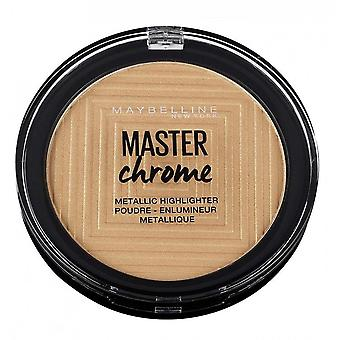 Maybelline Master Chrom Metallic Highlighter - 100 geschmolzenes Gold