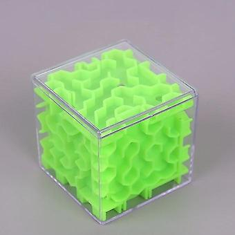 3d Maze Magic Cube Transparent Six-sided Puzzle Speed Cube Rolling Ball Jeu