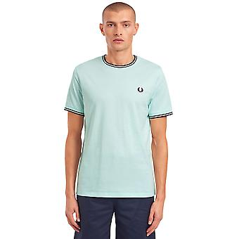 Fred Perry Men's Twin Tipped T-Shirt Regular Fit