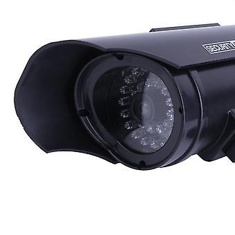 Solar Power Dummy Gefälschte Nachahmung Home Cctv Überwachungskamera mit LED-Licht