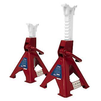 Sealey Vs2003 colonnette 3Tonne capacità Per Stand 6Tonne per ogni coppia Ratchet tipo