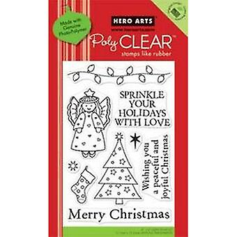 Hero Arts Sprinkle Your Holidays Clear Stamp