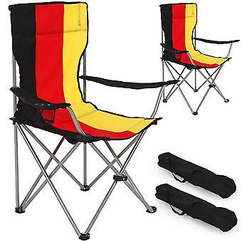 tectake 2 Camping stoler singel - Tyskland
