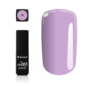 Silcare - Flexy - Hybrid gel - Farve: 16 - 4,5 gram