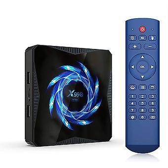 الذكية مربع التلفزيون X96Q ماكس الروبوت 10.0 التلفزيون مربع الفائز H616 تدفق وسائل الإعلام لاعب 4GB 64GB 2.4G 5G ثنائي واي فاي 4K وسائل الإعلام لاعب BT5.0 يوتيوب تعيين أعلى مربع (أسود)