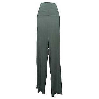 ليزا رينا جمع النساء و apos;s زائد السراويل طي الخصر الأخضر واسعة A308832