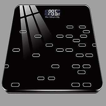 Weight Scale Body Electronic(Black)