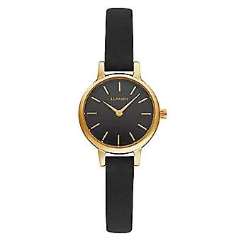 LLARSEN Analogueic Watch Quartz Woman with Leather Strap 145GBG3-GCOAL8
